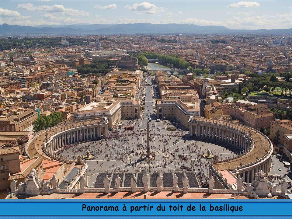 Panorama à partir du toit de la basilique