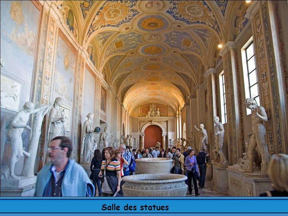 Salle des statues