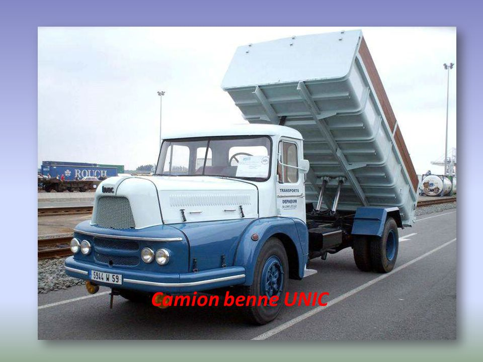 Camion benne UNIC