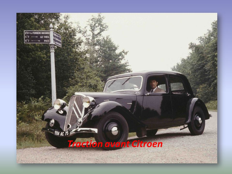 Traction avant Citroen