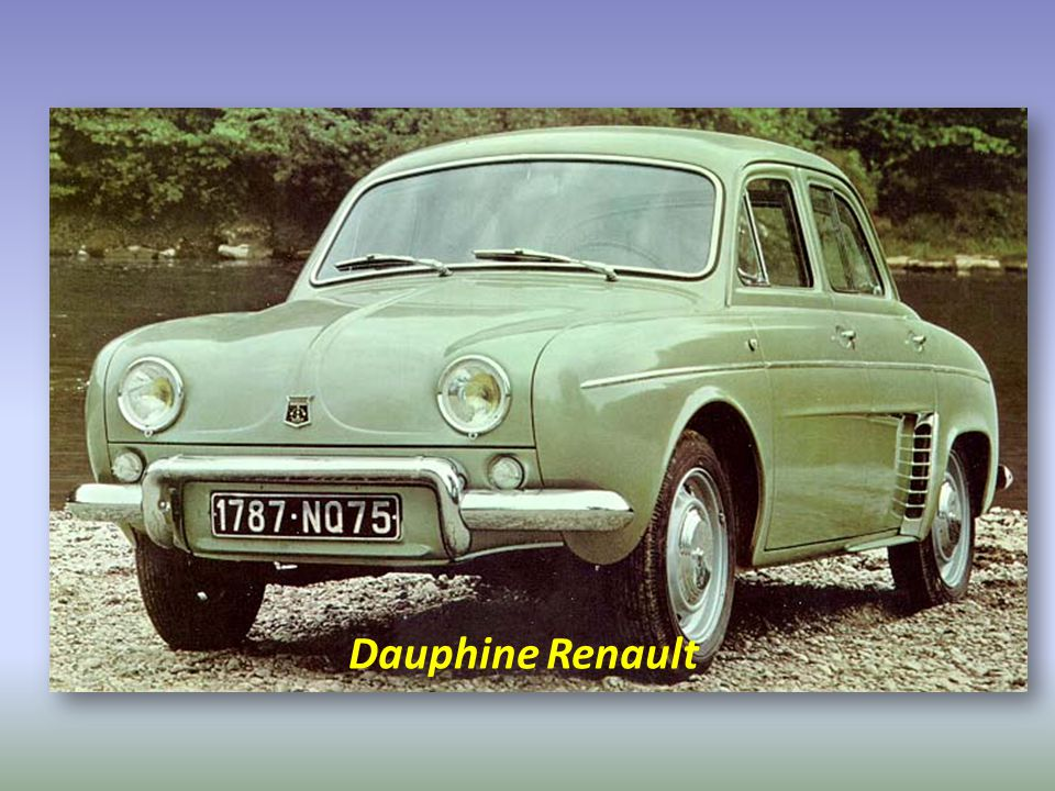 Dauphine Renault