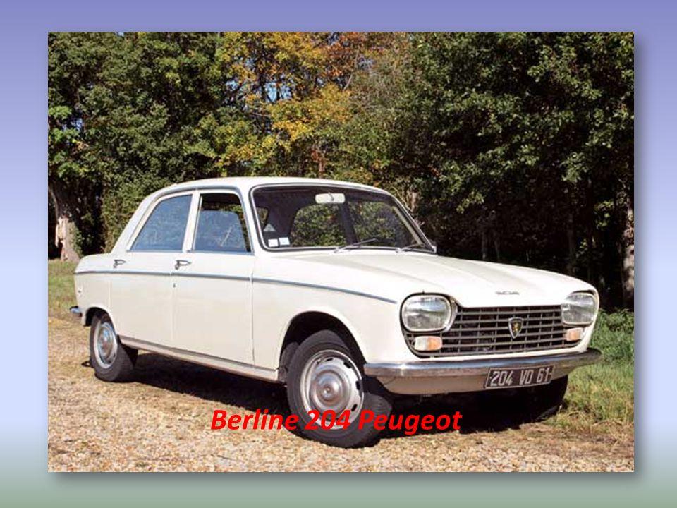 Berline 204 Peugeot
