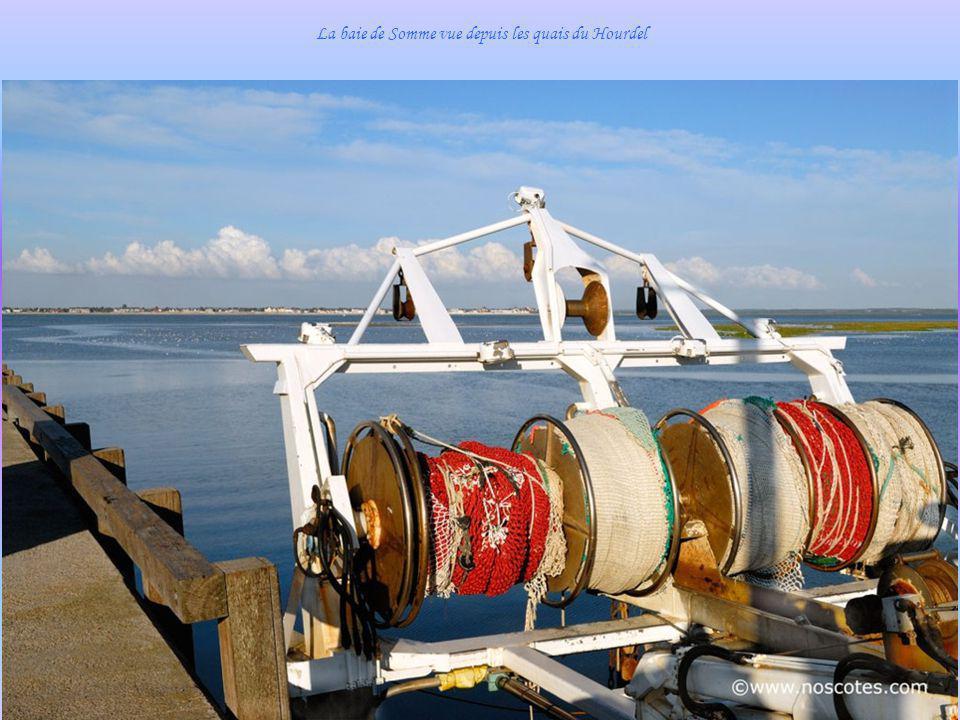 La baie de Somme vue depuis les quais du Hourdel