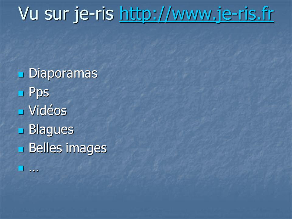 Vu sur je-ris http://www.je-ris.fr