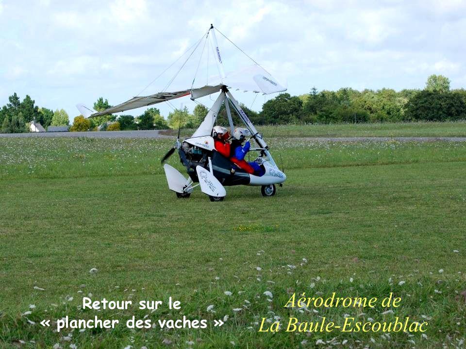 Aérodrome de La Baule-Escoublac Retour sur le « plancher des vaches »