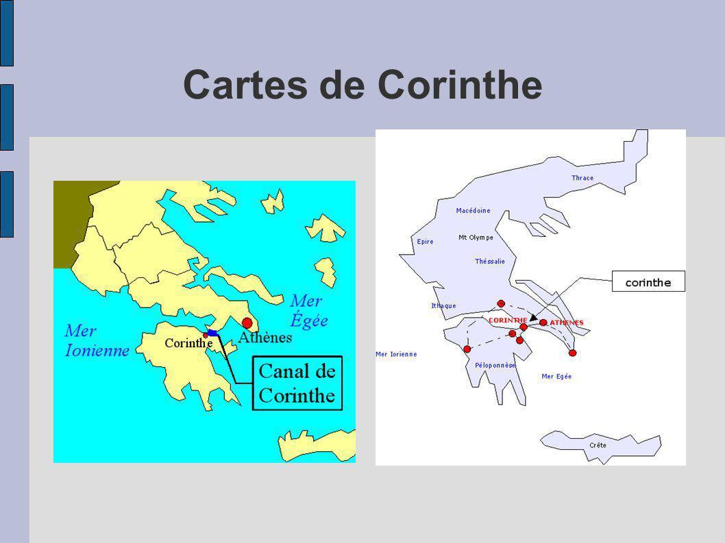 Cartes de Corinthe
