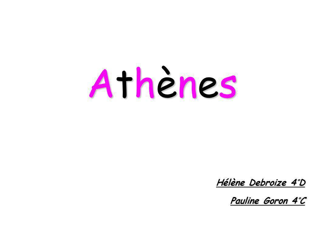 Athènes Hélène Debroize 4°D Pauline Goron 4°C