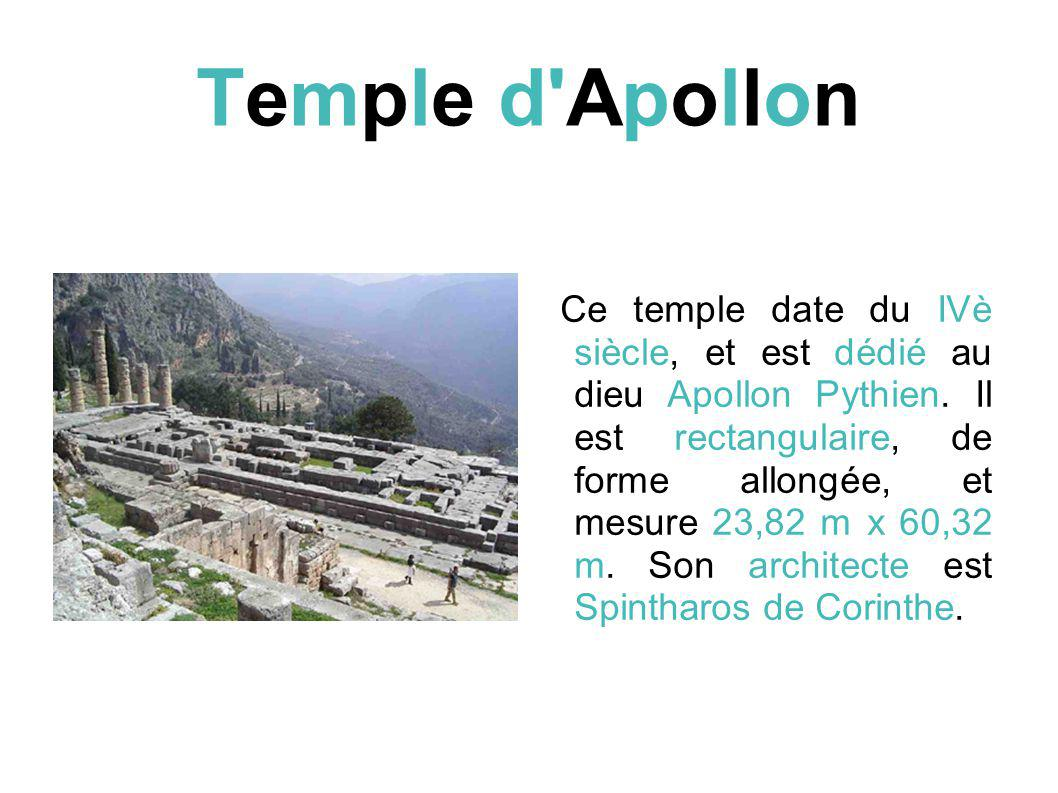 Temple d Apollon