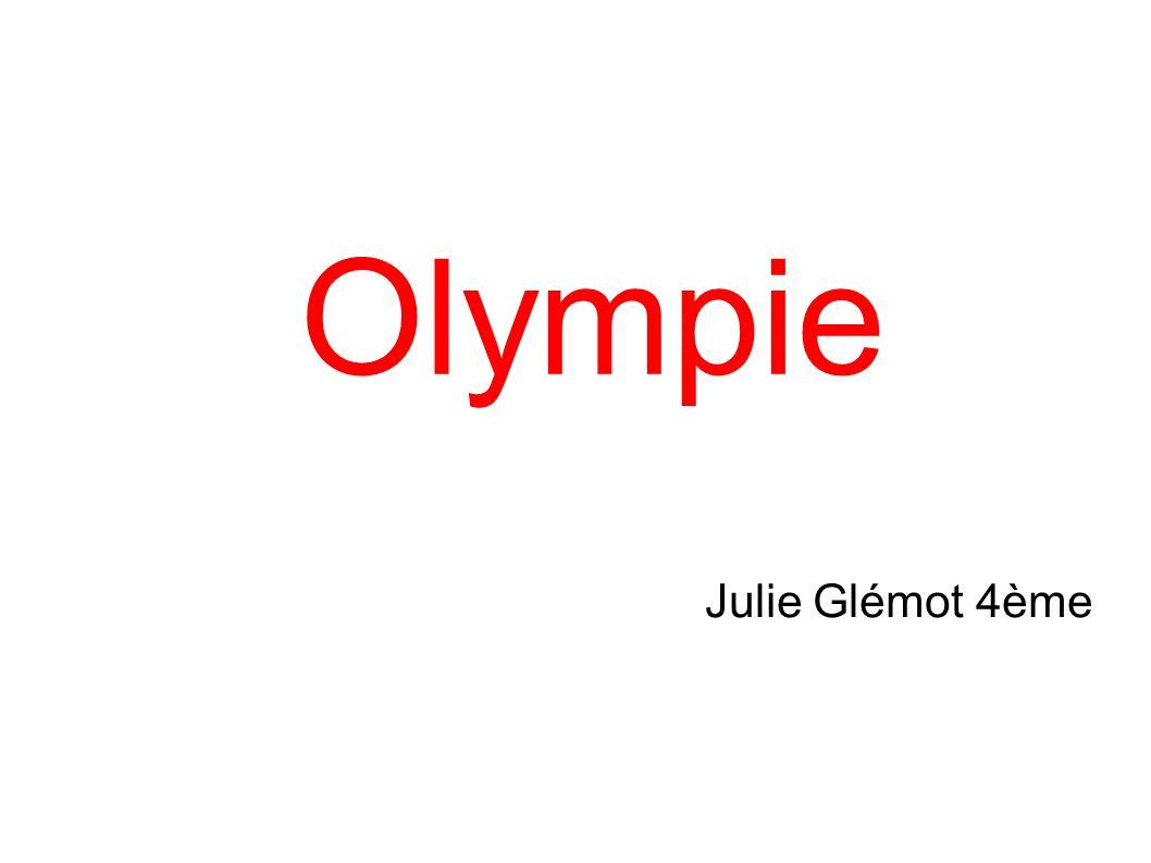 Olympie Julie Glémot 4ème