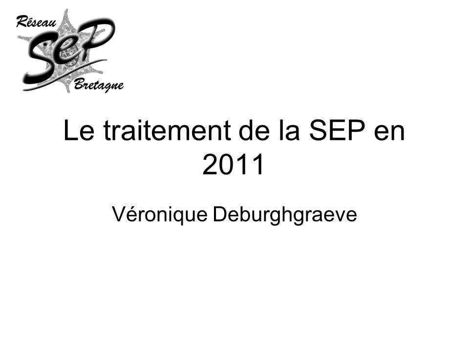 Le traitement de la SEP en 2011