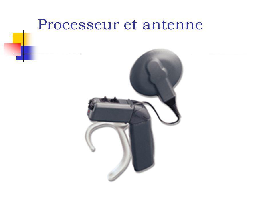 Processeur et antenne