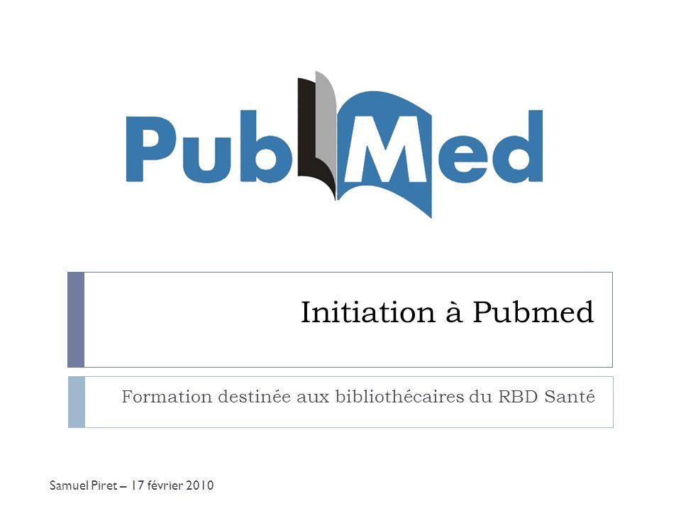 Formation destinée aux bibliothécaires du RBD Santé