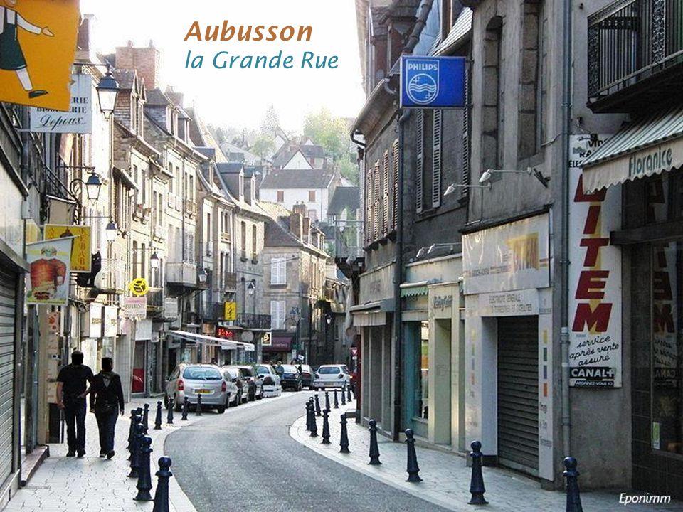 Aubusson la Grande Rue