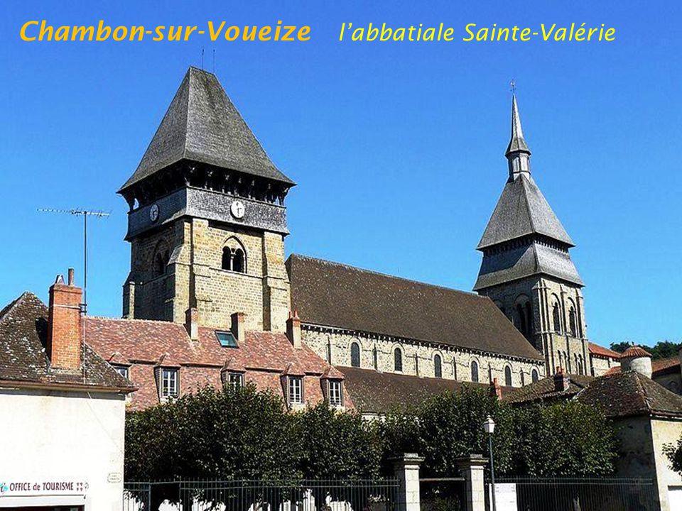 Chambon-sur-Voueize l'abbatiale Sainte-Valérie