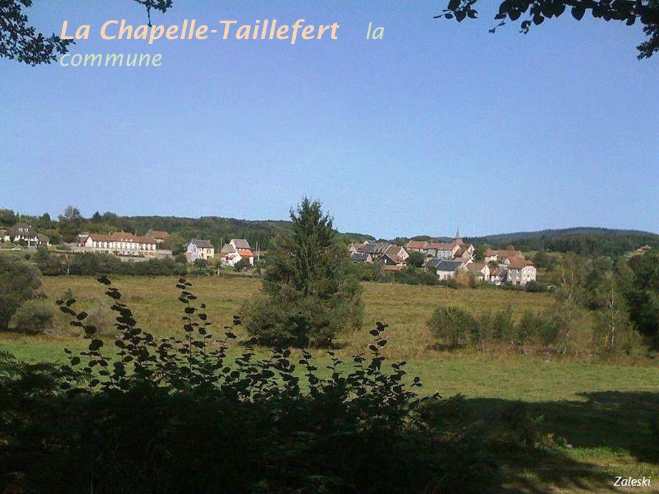La Chapelle-Taillefert la commune