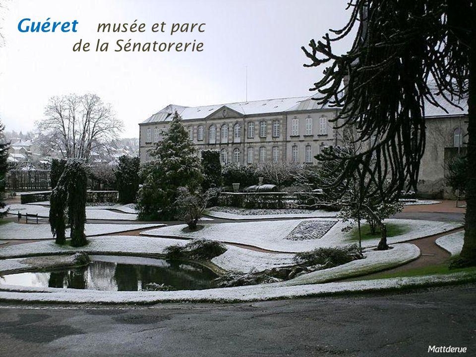 Guéret musée et parc . de la Sénatorerie