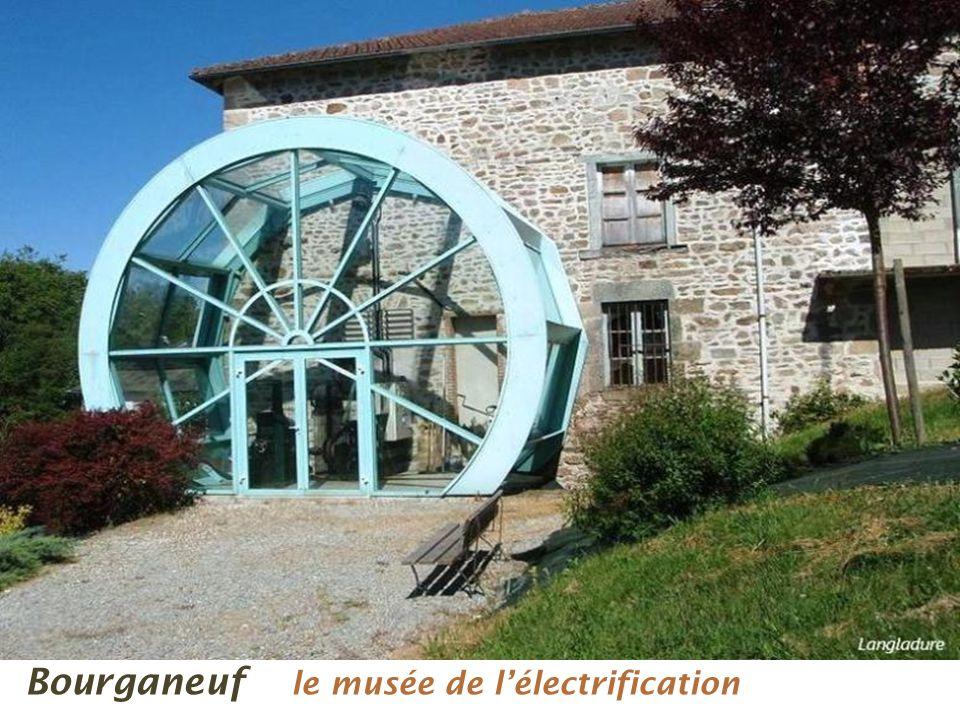 Bourganeuf le musée de l'électrification