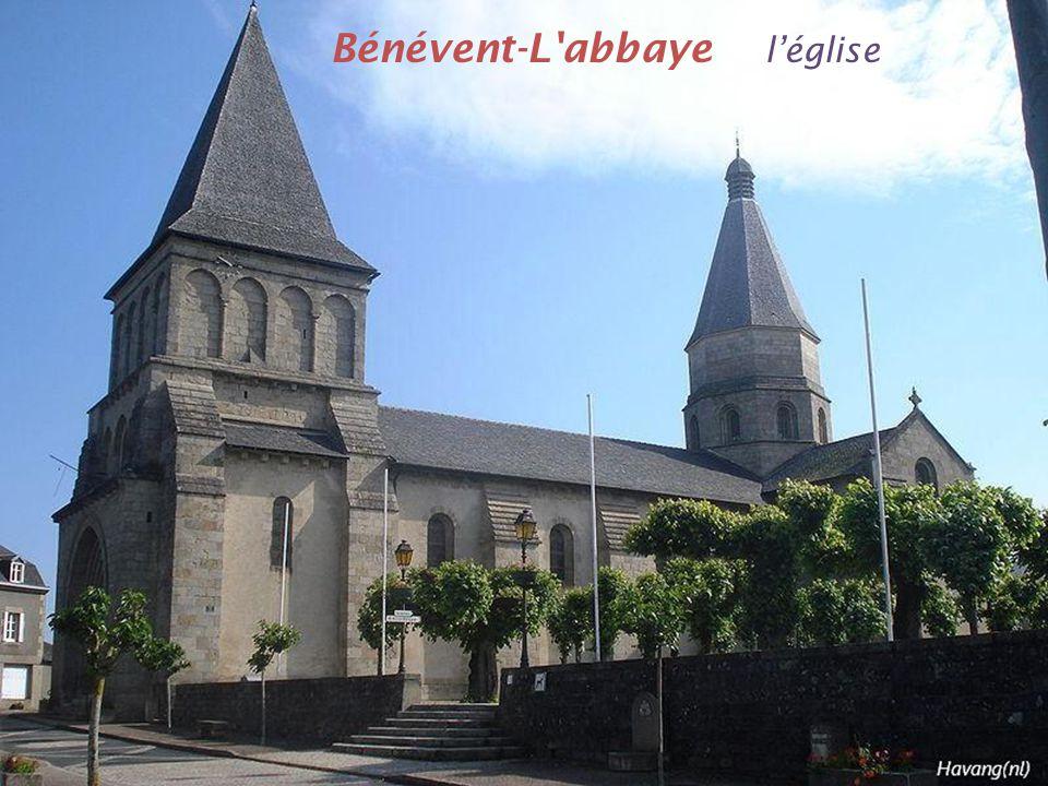 Bénévent-L abbaye l'église