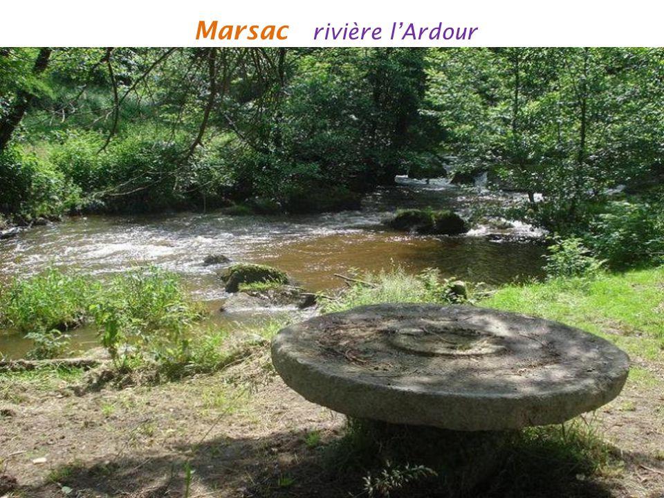 Marsac rivière l'Ardour