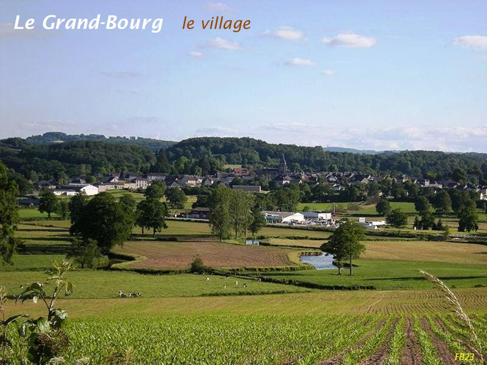 Le Grand-Bourg le village