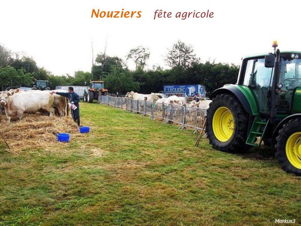 Nouziers fête agricole