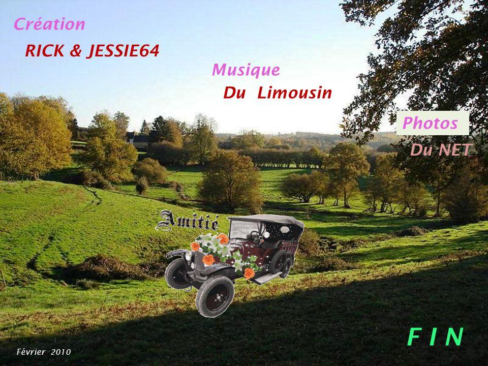 F I N Création RICK & JESSIE64 Musique Du Limousin Photos Du NET