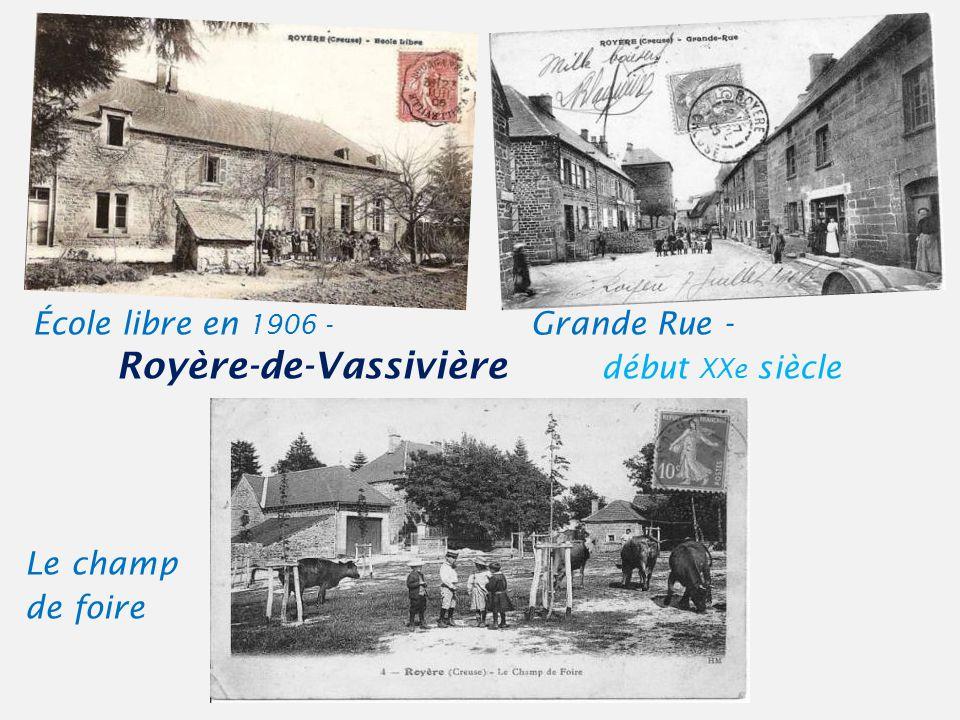 École libre en 1906 - Grande Rue -