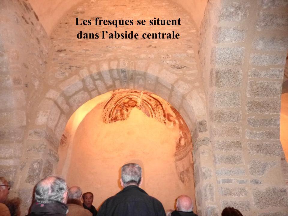 Les fresques se situent dans l'abside centrale