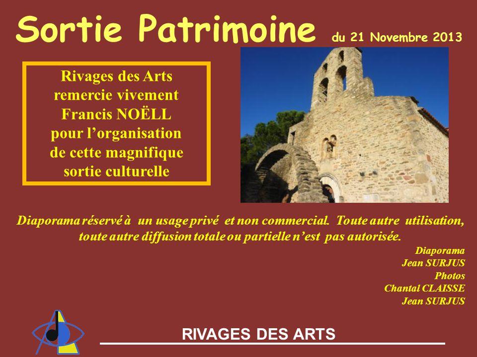 Sortie Patrimoine du 21 Novembre 2013
