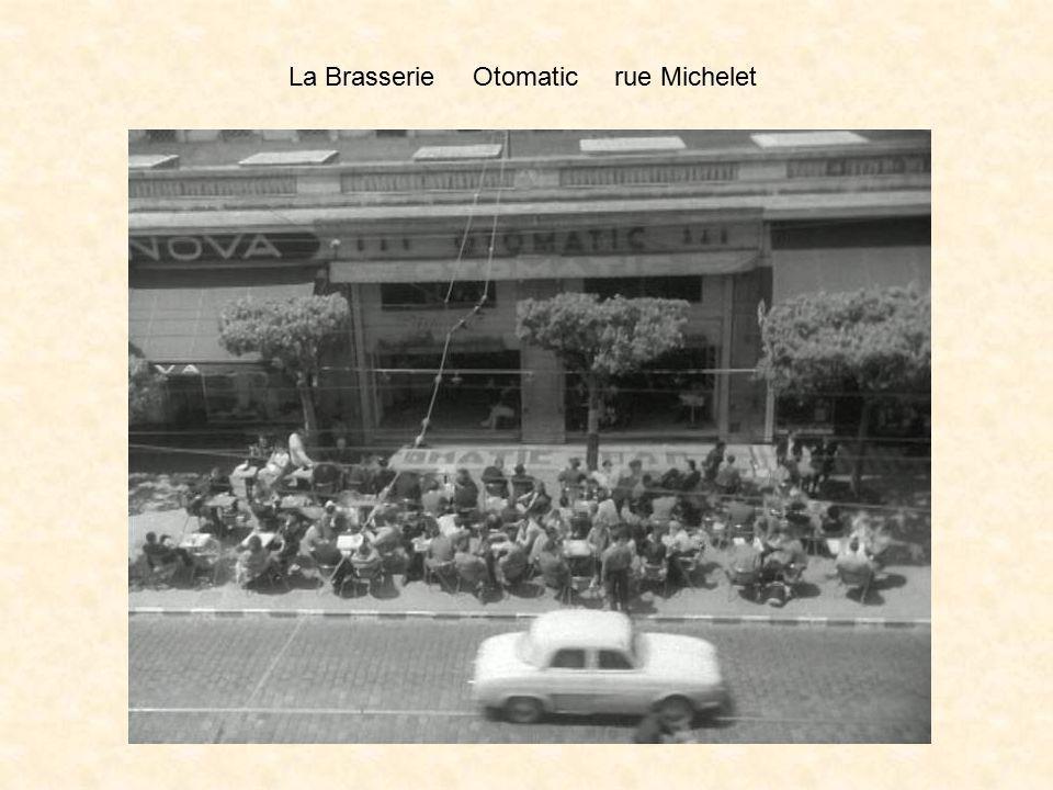 La Brasserie Otomatic rue Michelet