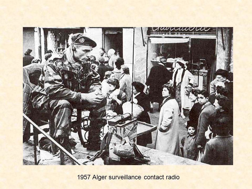 1957 Alger surveillance contact radio