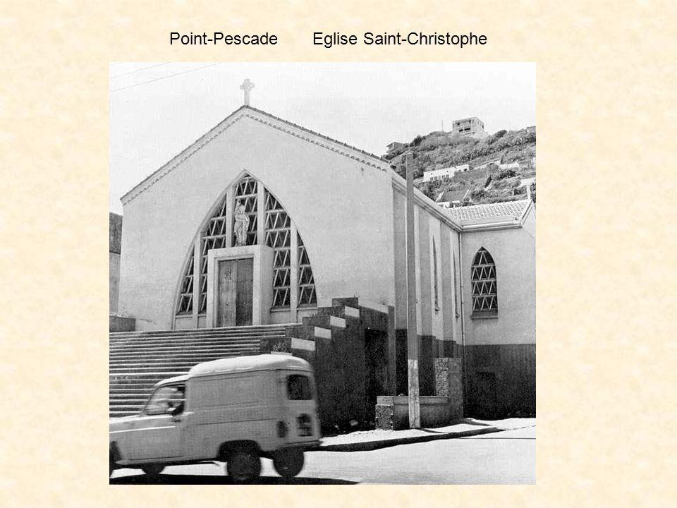 Point-Pescade Eglise Saint-Christophe