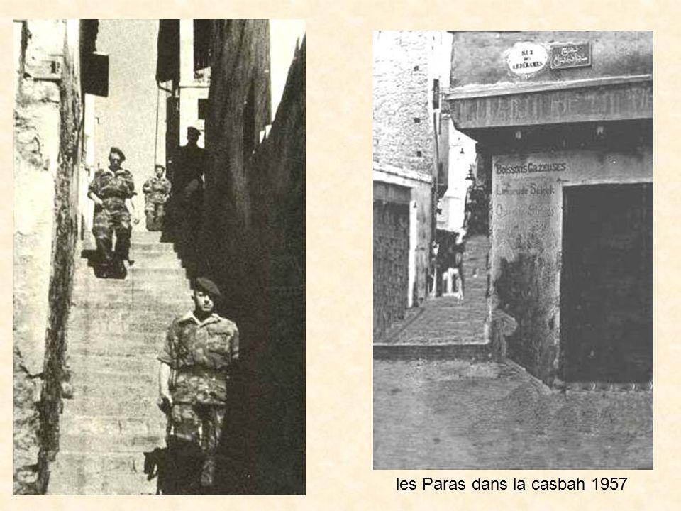 les Paras dans la casbah 1957
