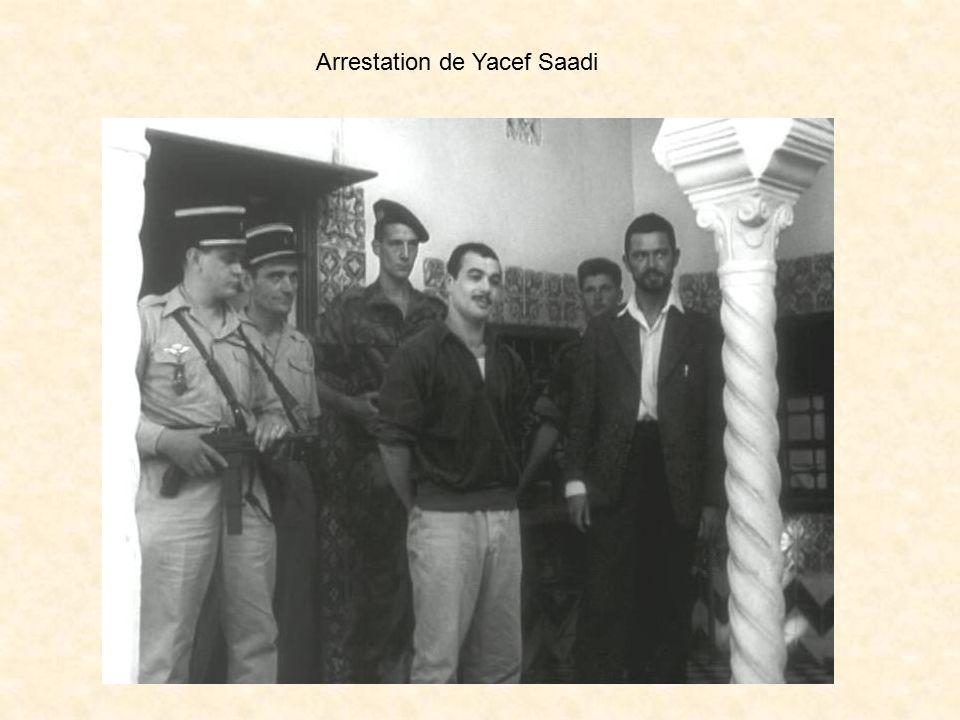 Arrestation de Yacef Saadi