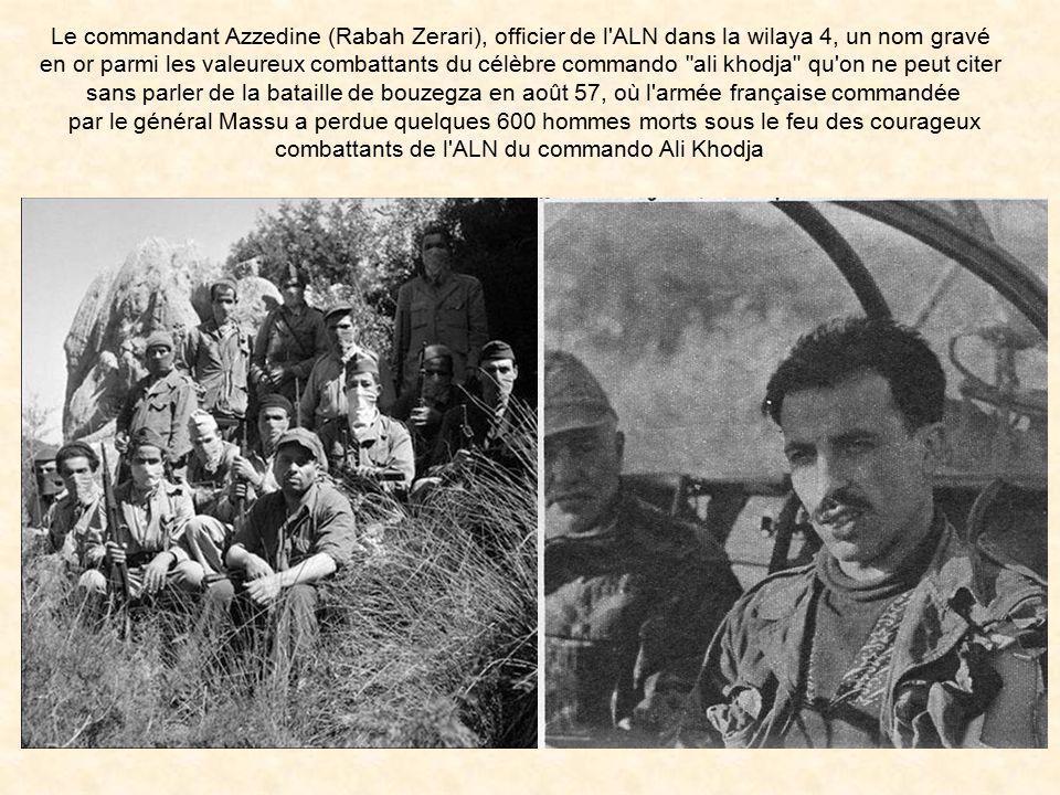 combattants de l ALN du commando Ali Khodja