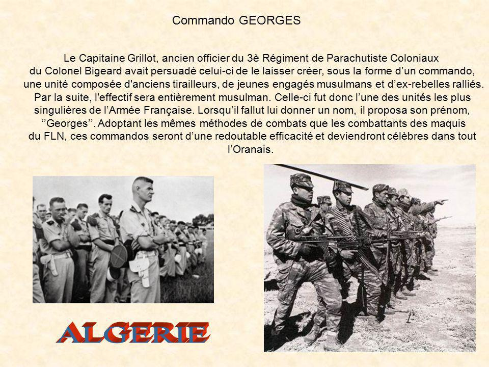 ALGERIE Commando GEORGES