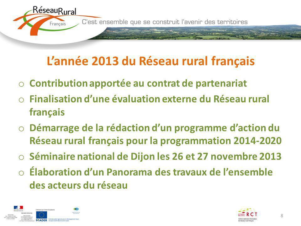 L'année 2013 du Réseau rural français