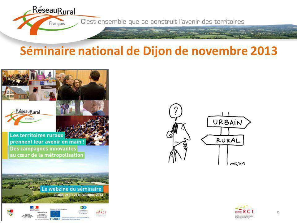 Séminaire national de Dijon de novembre 2013