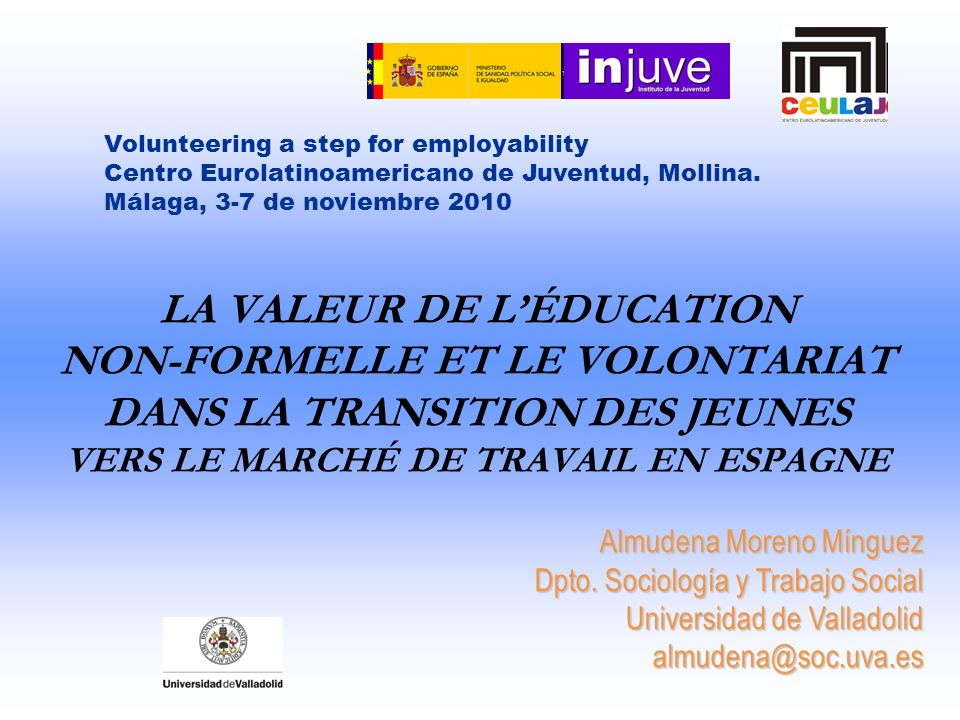 Volunteering a step for employability