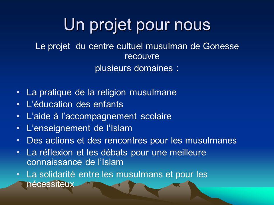 Le projet du centre cultuel musulman de Gonesse recouvre