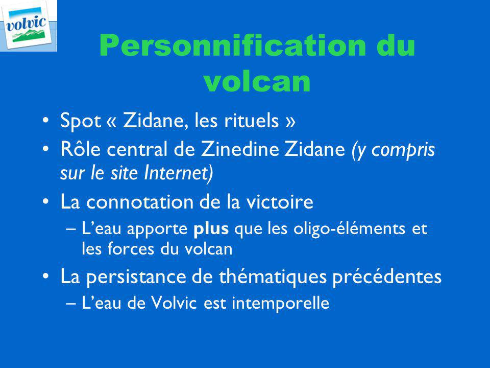 Personnification du volcan