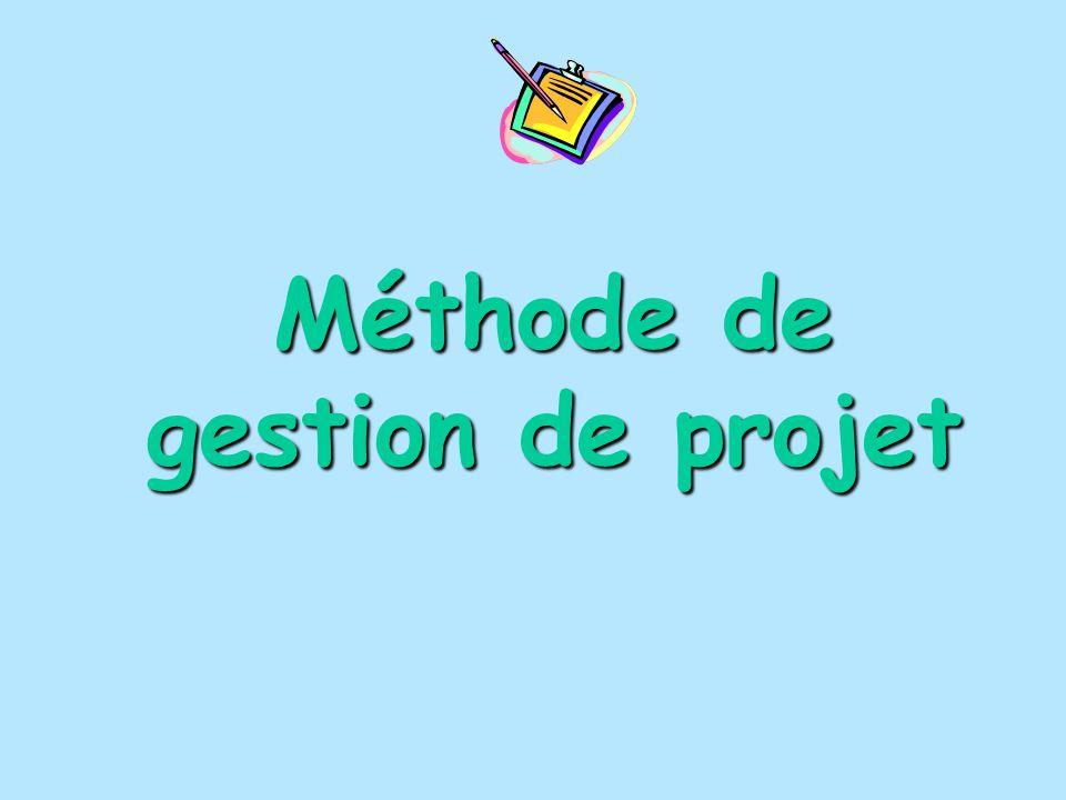 Méthode de gestion de projet