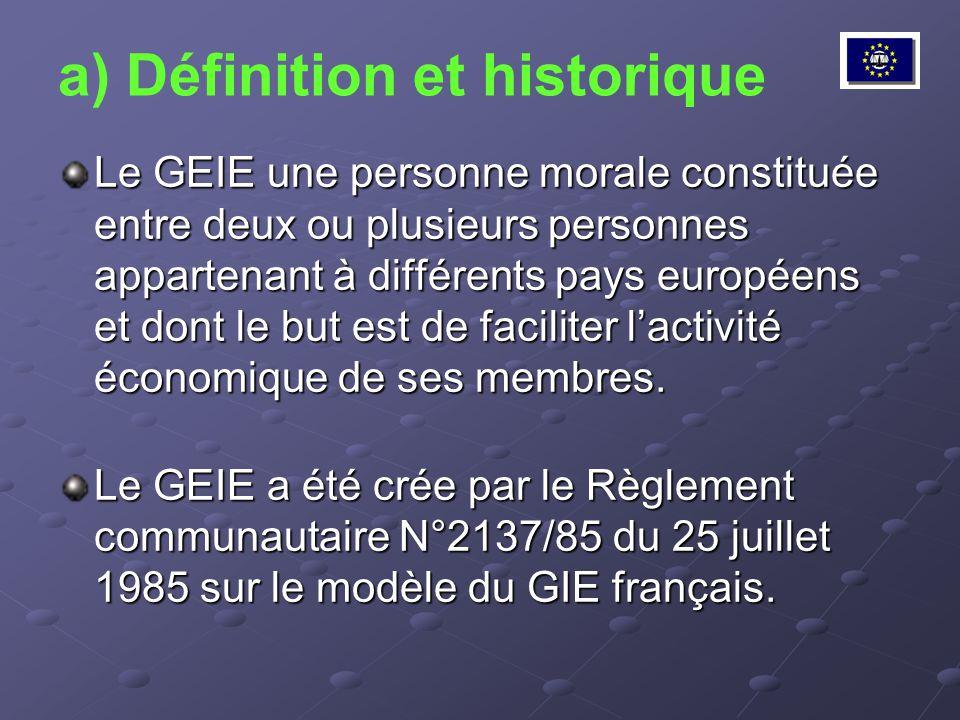 a) Définition et historique