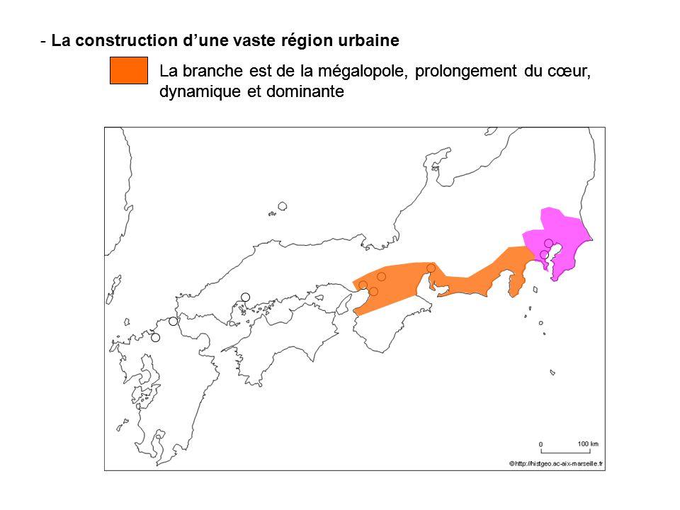La construction d'une vaste région urbaine