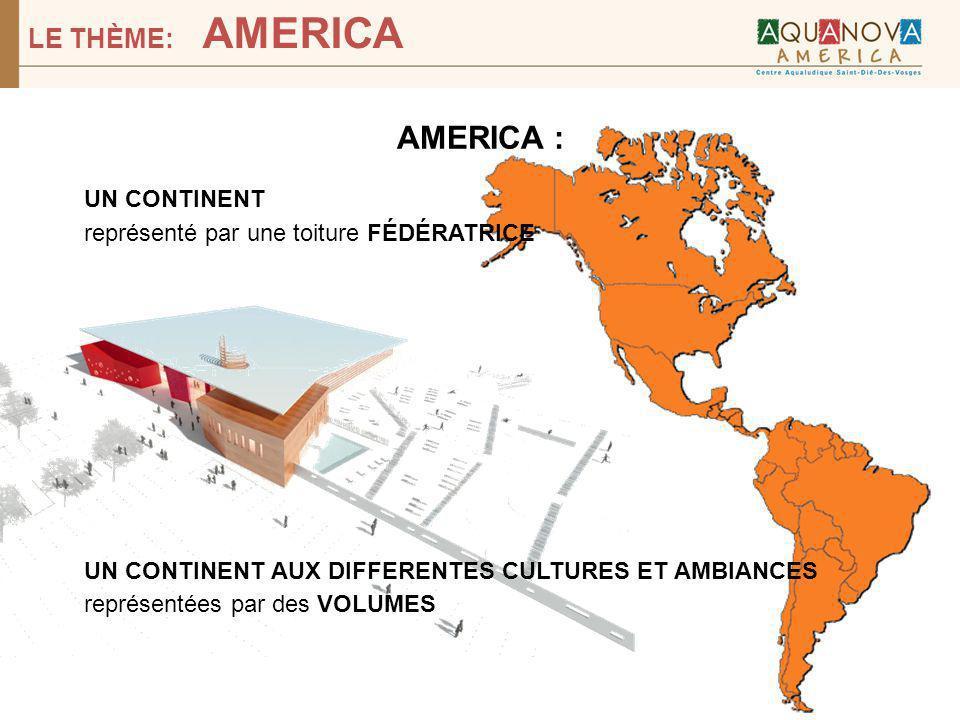AMERICA : LE THÈME: AMERICA UN CONTINENT