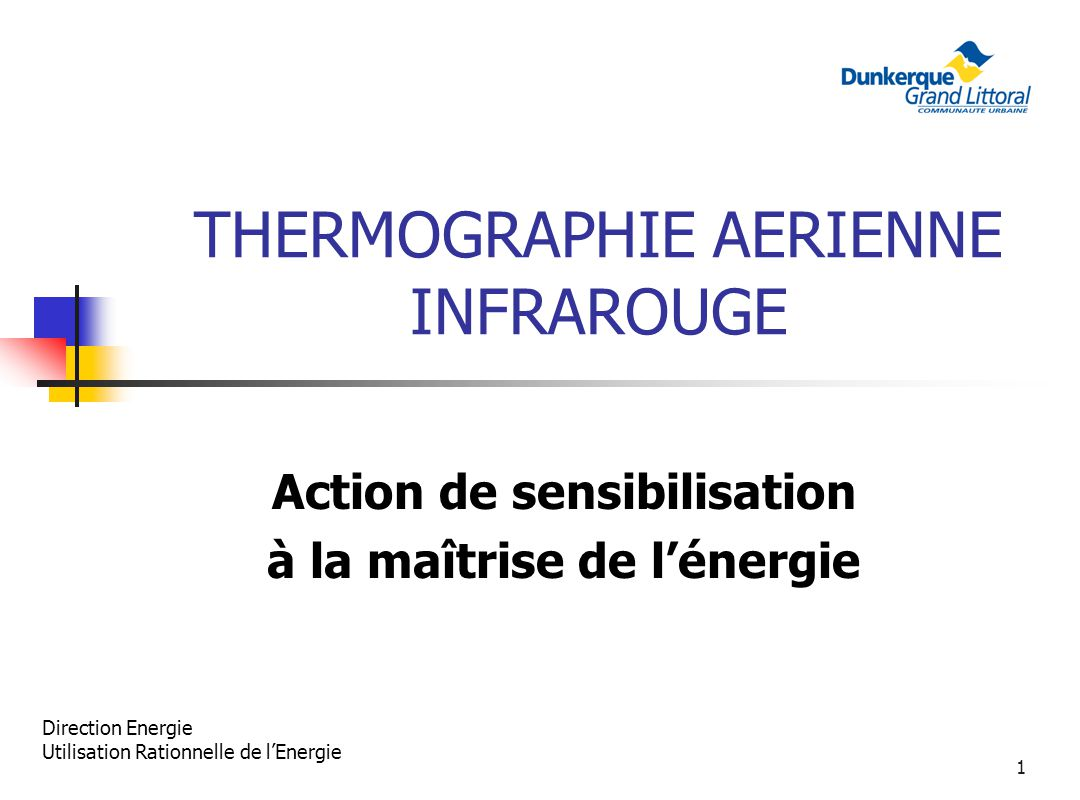 THERMOGRAPHIE AERIENNE INFRAROUGE