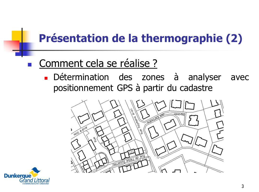 Présentation de la thermographie (2)