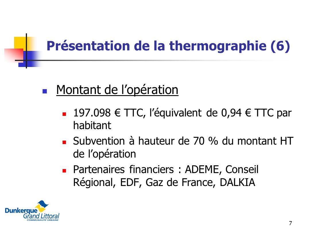 Présentation de la thermographie (6)