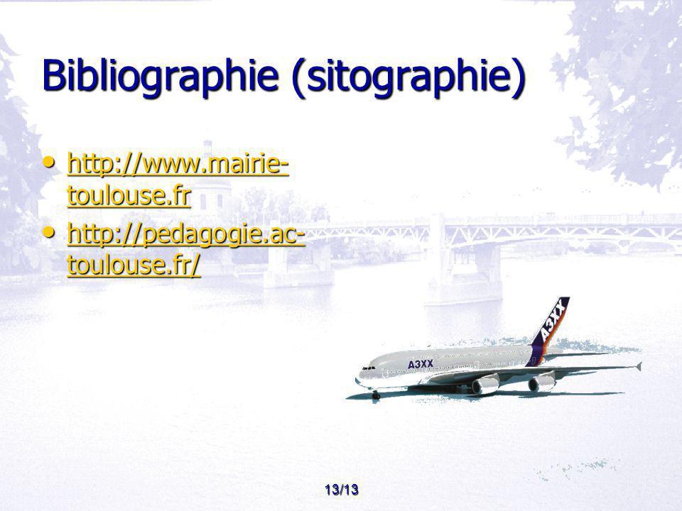 Bibliographie (sitographie)