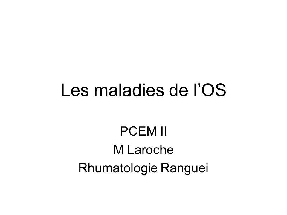 PCEM II M Laroche Rhumatologie Ranguei